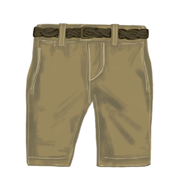 Girls Jane Goodall Shorts
